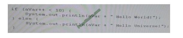 Examwall 1Z0-808 exam questions-q3